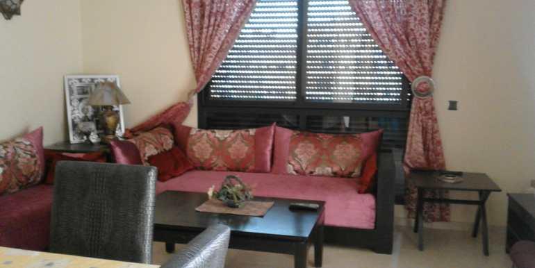 Appartement meublé pour longue durée à la palmeraie marrakech (2)