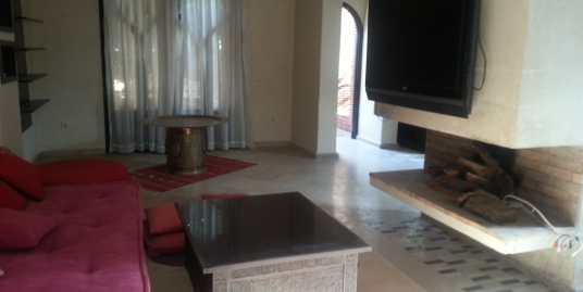 belle demeure non meublée sur avenue mohamed 6 marrakech