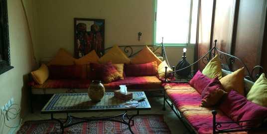 appartement meublé pour longue durée route de safi marrakech