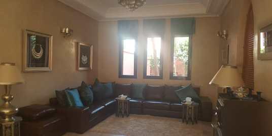 Belle villa meublée pour longue durée rte de casa marrakech