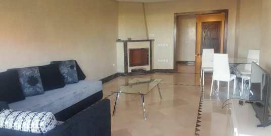 spacieux appartement meublé sur l'avenue mohamed 6 marrakech