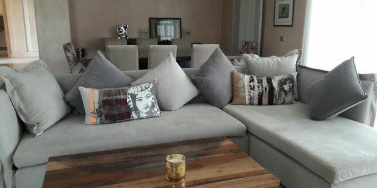 Location villa meublée sur avenue mohamed 6 (7)