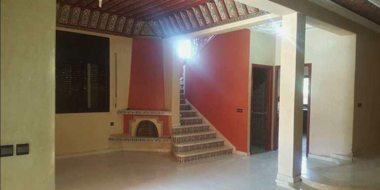 Villa à louer non meublé à marrakech la route de casa (4)