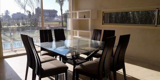 villa à louer meublée sur Av Mohammed VI à marrakech