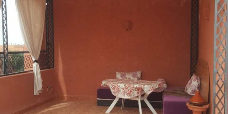 Villa à louer vide à targa marrakech (1)