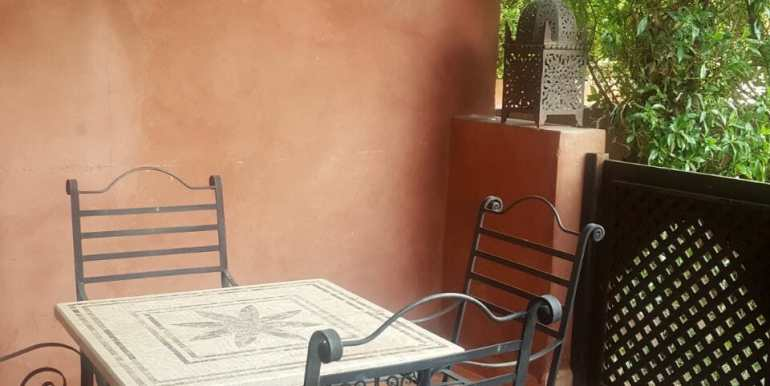 Vente appartement avec piscine privative à la palmeraie marrakech (7)