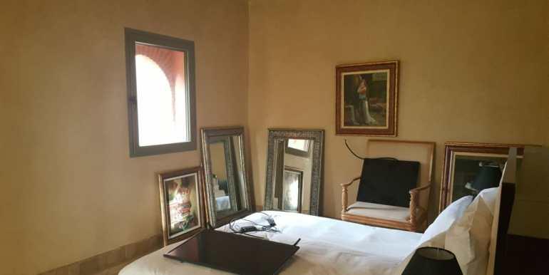 appartement vide de trois chambres à la palmeraie marrakech (5)