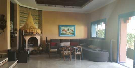 villa dans une résidence fermée route d'ourika marrakech