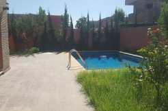 villa sur la route d'ourika marrakech