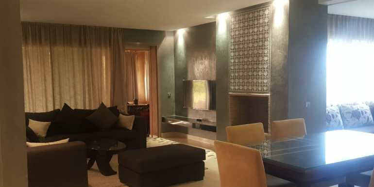 splendide appartement sur avenue mohamed VI marrakech (14)