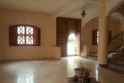 villa a louer vide à 'targa' marrakech