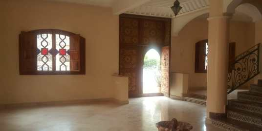 villa pas cher a louer à 'targa' marrakech