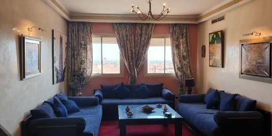 Bel appartement meublé sur la route de casa