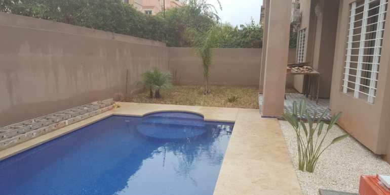 jolie villa vide à targa marrakech (14)