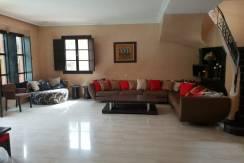 Villa meublée avec piscine privative à la palmeraie