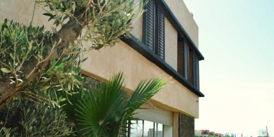villa à vendre combinant luxe et confort avenue mohamed 6 marrakech