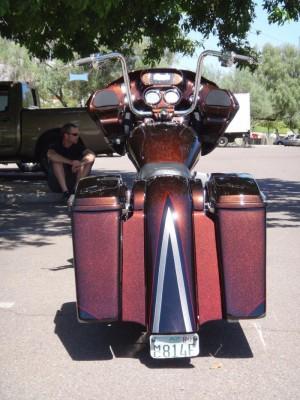 Matt's 06 Road Glide - Matt Risley Innovation