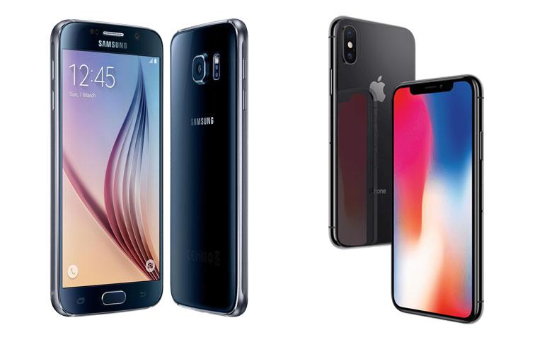 samsung-galaxy-s6-iphone-x