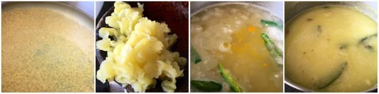 yellow lentil rasam
