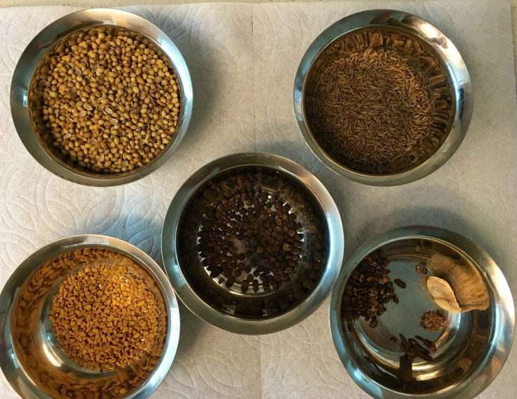 Kashaya powder