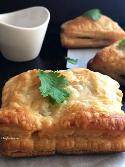 How To Make Vegetable Puff Pastry
