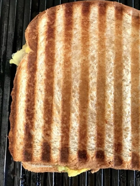 Avocado Ranch Panini Sandwich