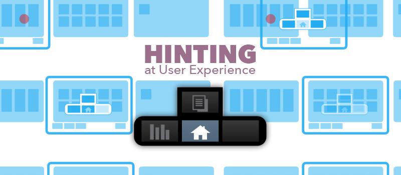 UX Hinting