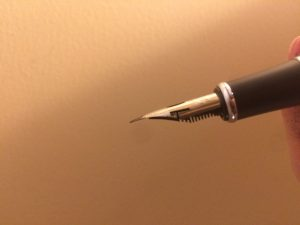 My new mobile dip pen: Jinhao x750. I like it.