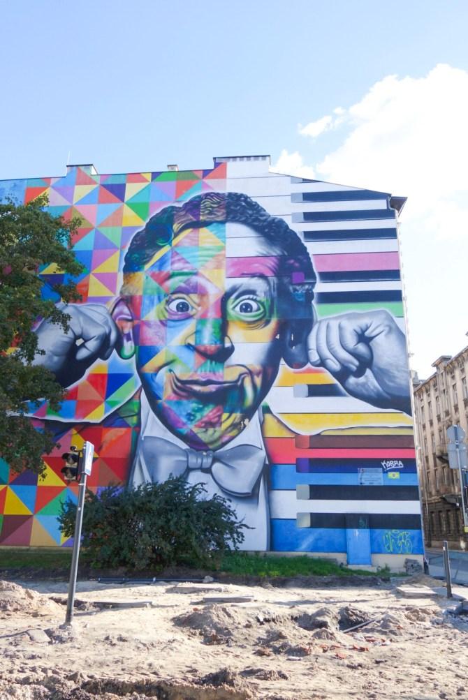 Eduardo Kobra street art Łódz