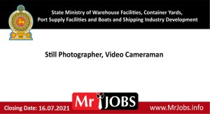 State Ministry of Warehouse Facilities Container Yards Port Supply Facilities and Boats and Shipping Industry Development Vacancies