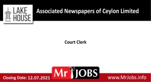 Associated Newspapers of Ceylon Limited Vacancies