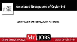 Associated Newspapers of Ceylon Ltd Vacancies