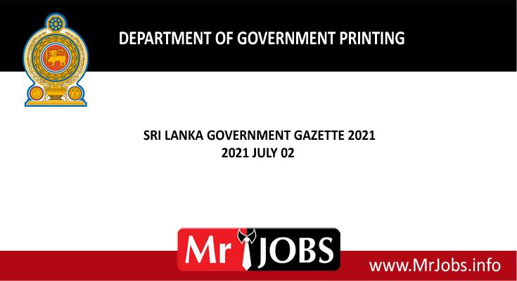 Gazette 2021 July 02