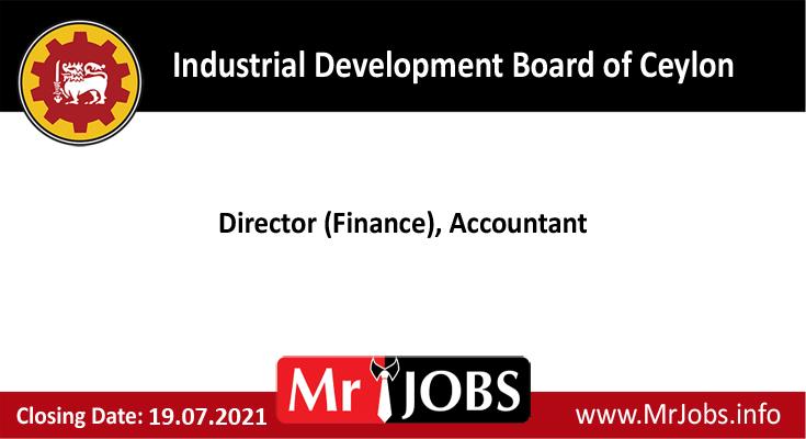 Industrial Development Board of Ceylon Vacancies