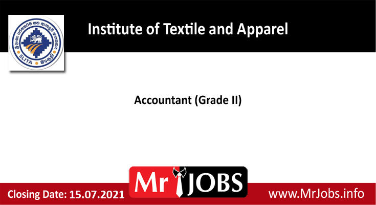 Institute of Textile and Apparel Vacancies