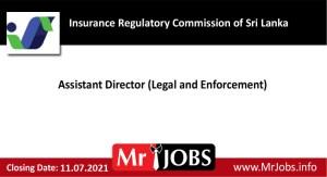 Insurance Regulatory Commission of Sri Lanka Vacancies
