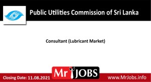 Public Utilities Commission of Sri Lanka Vacancies