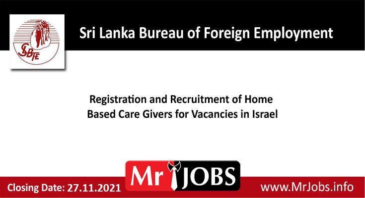 Sri Lanka Bureau of Foreign Employment Vacancies