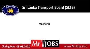 Sri Lanka Transport Board (SLTB) Vacancies