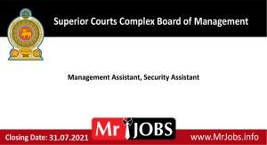 Superior Courts Complex Board of Management Vacancies