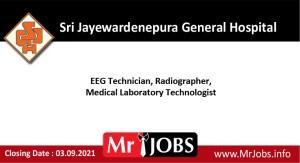 Sri Jayewardenepura General Hospital Vacancies