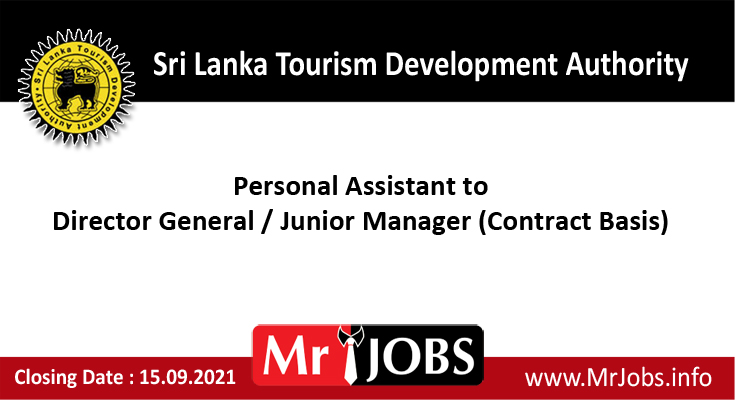 Sri Lanka Tourism Development Authority Vacancies