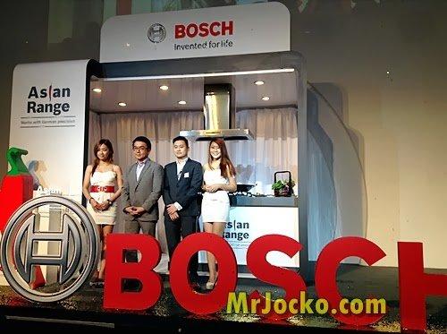Produk Bosch Asian Range : Memasak Secara Bergaya