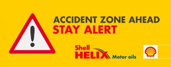 Shell Helix dan Waze Accident Prone Spots Alerts