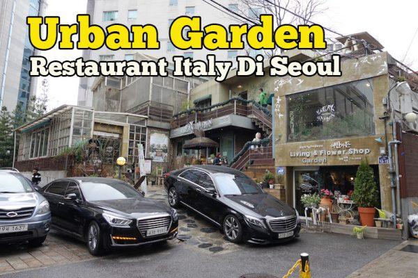 Urban Garden Restaurant Seoul Hidangkan Menu Makanan Itali