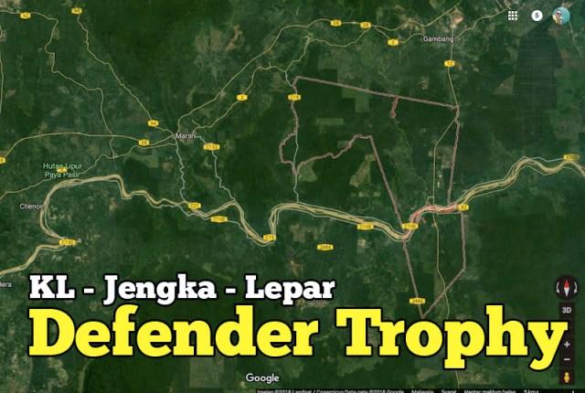 Defender Trophy The Aquarium Trails KL Jengka Lepar Gaya 4X4