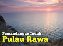 Gambar Gambar Pemandangan Indah Pulau Rawa Mersing Johor
