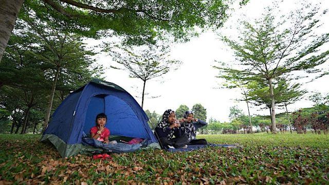 camping dengan produk coleman di malaysia