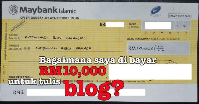 income dari blog