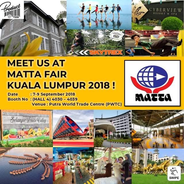 Kempen Discover Selangor Di Matta Fair 2018 September